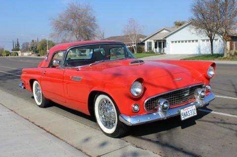 1956 Ford Thunderbird na prodej