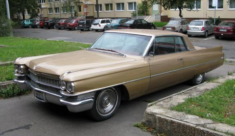 1963 Cadillac Coupe de Ville na prodej