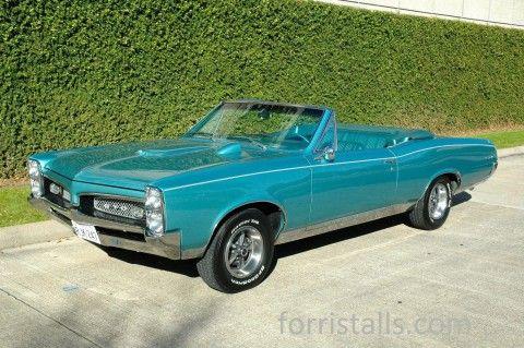 1967 Pontiac GTO Convertible na prodej
