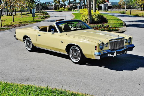 1977 Chrysler Cordoba Convertible na prodej