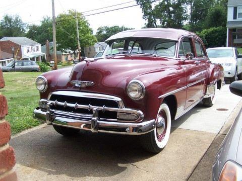 1952 Chevrolet Styleline Deluxe na prodej