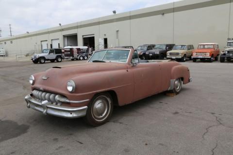 1952 DeSoto Convertible na prodej