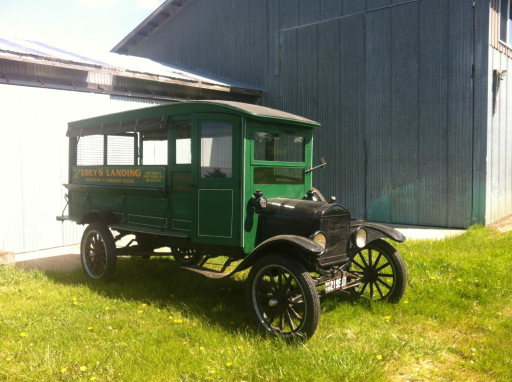 1922 Ford Model T Delivery Truck