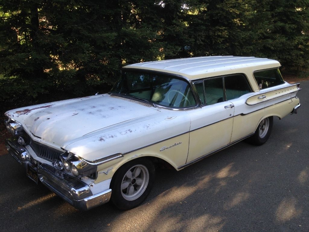 1957 Mercury Commuter Station Wagon