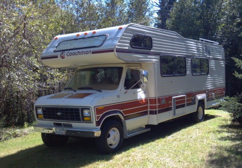 1983 Ford Coachman RV Motorhome na prodej