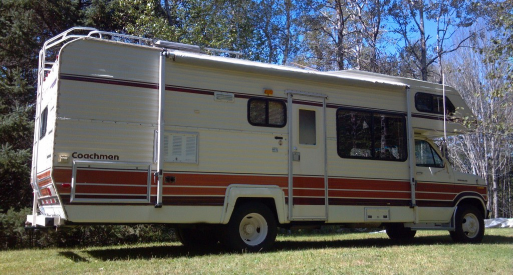1983 Ford Coachman RV Motorhome