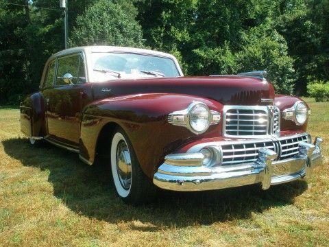 1948 Lincoln Continental na prodej