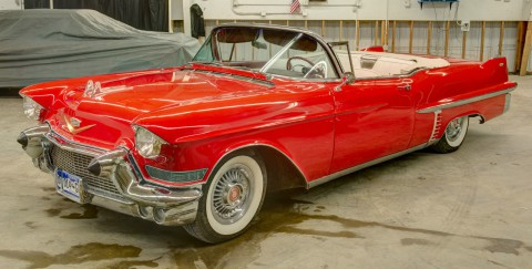 1957 Cadillac Serie 62 Convertible na prodej