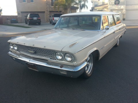 1963 Ford Galaxie Country Wagon na prodej