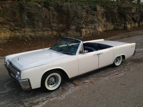 1963 Lincoln Continental Convertible na prodej