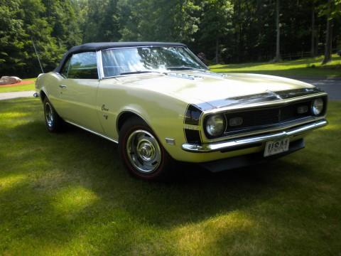 1968 Chevrolet Camaro Convertible na prodej