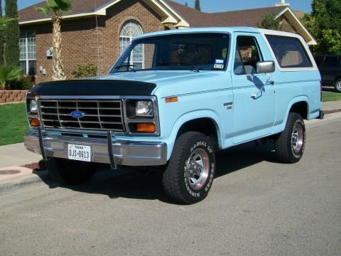 1986 Ford Bronco XL na prodej