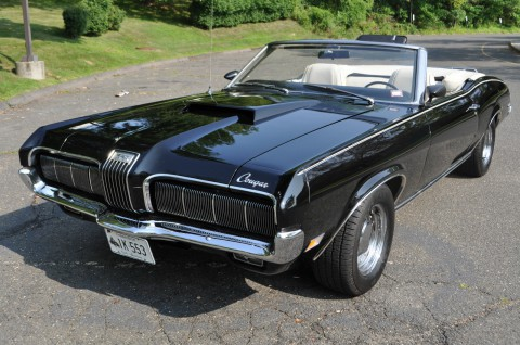 1970 Mercury Cougar Convertible na prodej