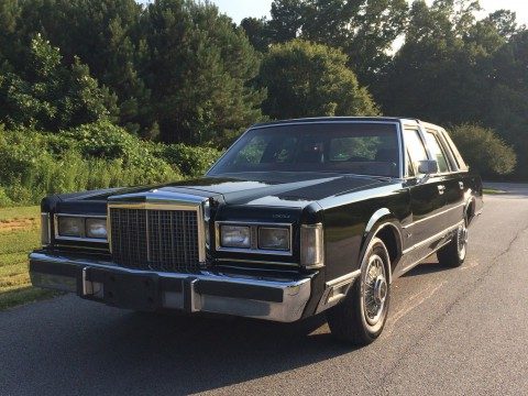 1986 Lincoln Town Car na prodej