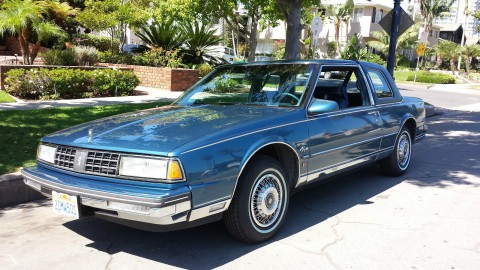 1987 Oldsmobile Ninety-Eight Brougham Coupe na prodej