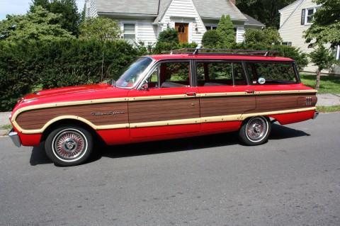 1962 Ford Falcon Squire Wagon na prodej