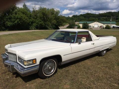 1975 Cadillac de Ville Pickup na prodej