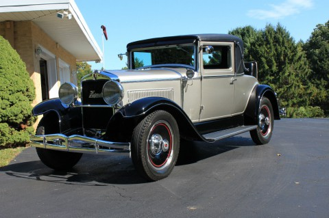 1929 Hupmobile Rumble Seat Coupe na prodej