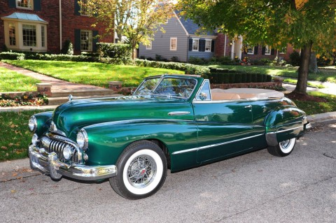 1947 Buick Series 50 Convertible na prodej