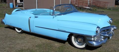 1953 Cadillac Eldorado Convertible na prodej