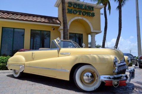 1948 Buick Super Eight Convertible na prodej