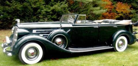 1937 Packard 1508 Convertible na prodej