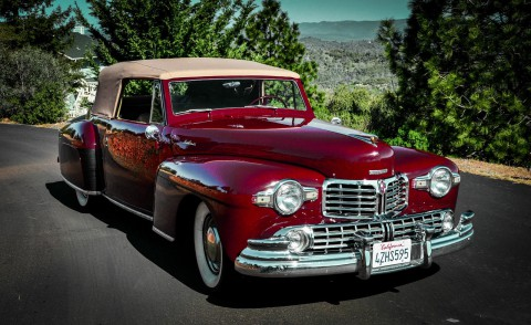 1948 Lincoln Continental Convertible na prodej