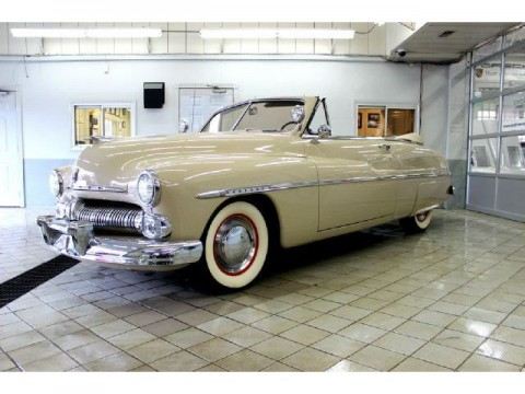1950 Mercury Convertible na prodej