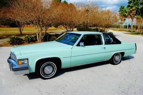 1978 Cadillac DeVille na prodej