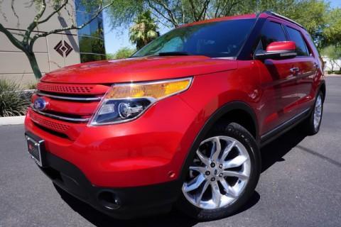 2012 Ford Explorer Limited na prodej
