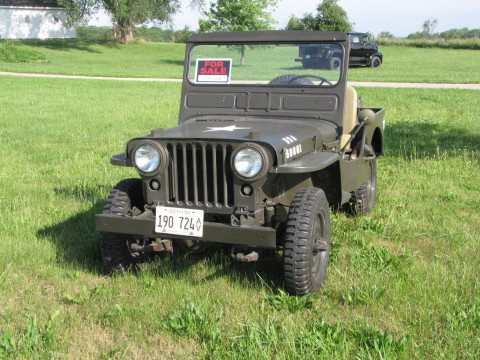 1952 Jeep Willys na prodej