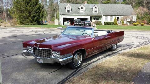 1970 Cadillac DeVille Convertible na prodej