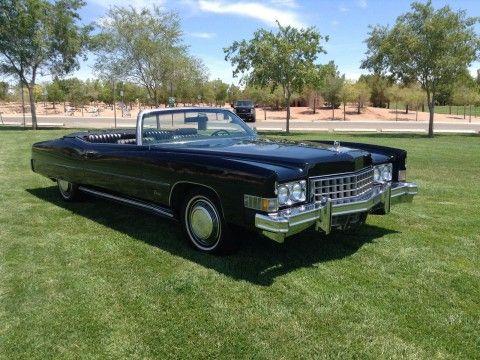 1973 Cadillac Eldorado Convertible na prodej