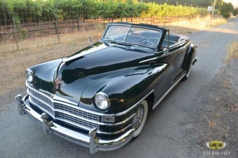 1948 Chrysler Windsor Convertible na prodej