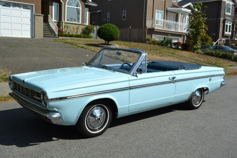 1965 Plymouth Valiant Convertible na prodej