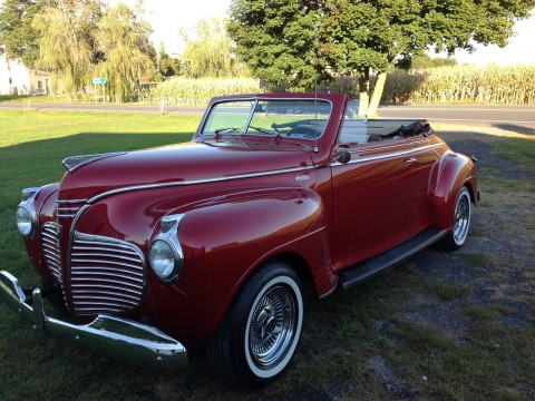 1941 Plymouth Special Deluxe Convertible na prodej
