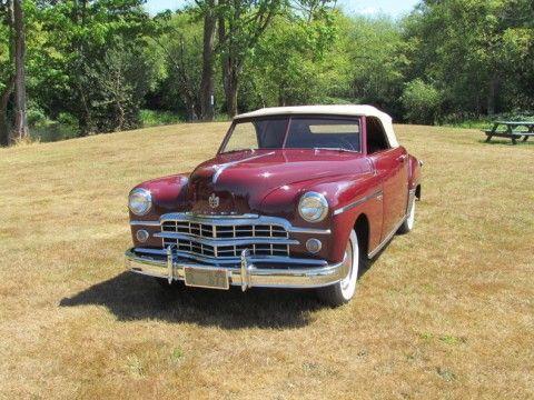 1949 Dodge Wayfarer Convertible na prodej