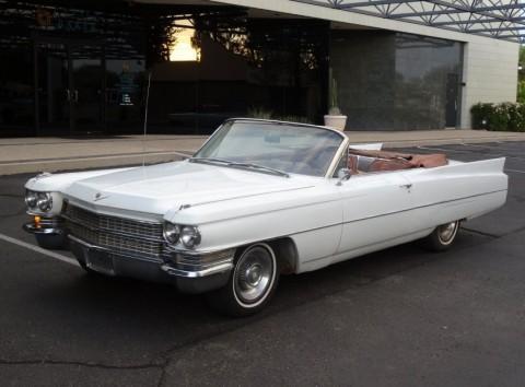 1963 Cadillac DeVille Convertible na prodej