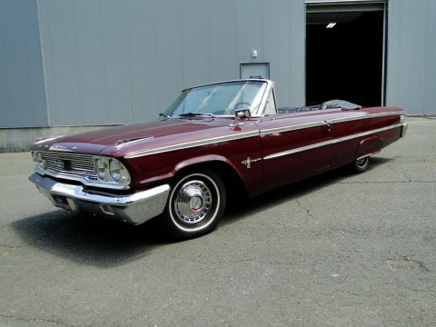1963 Ford Galaxie 500 Convertible na prodej