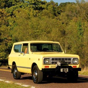 1980 International Harvester Scout na prodej