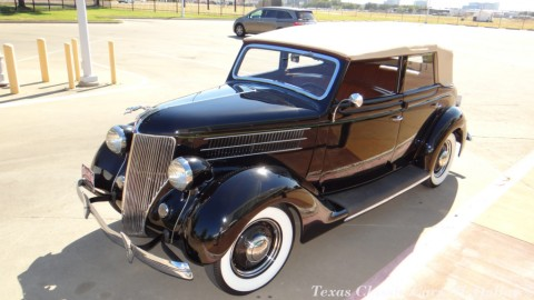 1936 Ford Deluxe Convertible na prodej