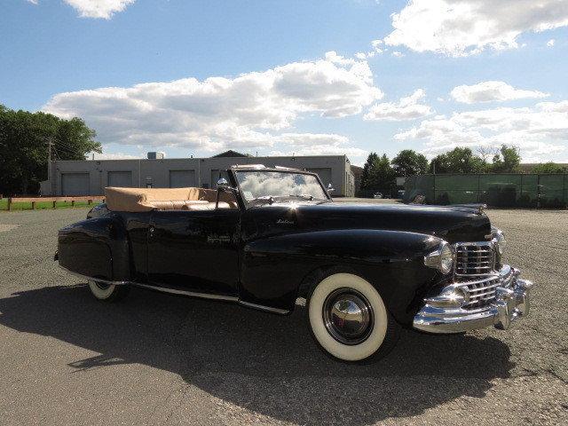 1947 lincoln continental convertible na prodej. Black Bedroom Furniture Sets. Home Design Ideas
