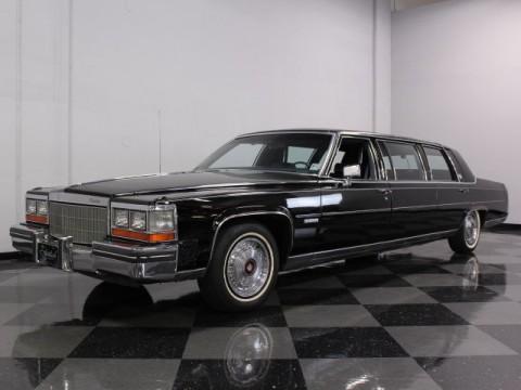 1982 Cadillac DeVille Limousine na prodej