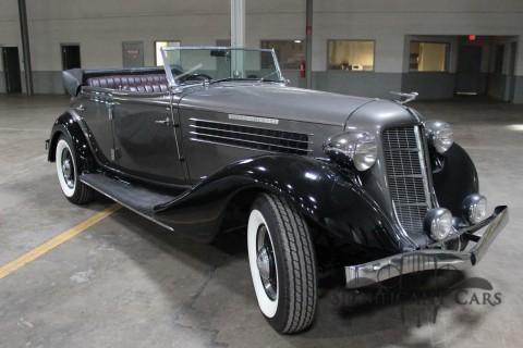 1936 Auburn 852 SC Phaeton na prodej