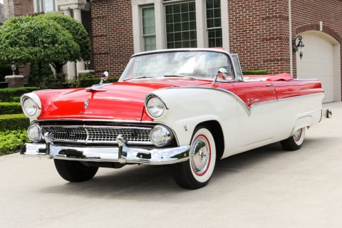1955 Ford Fairlane Sunliner Convertible na prodej