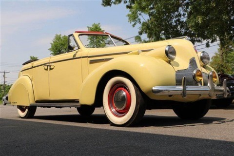 1939 Buick Phaeton Convertible na prodej