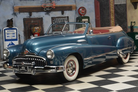 1947 Buick Super Convertible na prodej