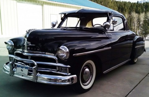 1950 Plymouth Deluxe Business Coupe na prodej