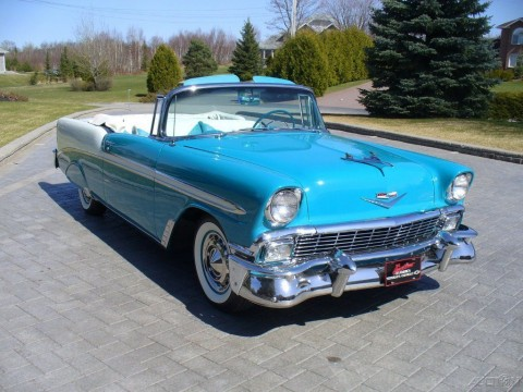1956 Chevrolet Bel Air Convertible na prodej