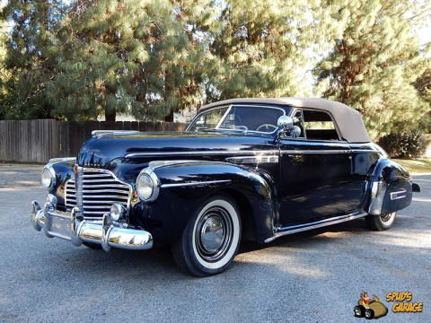 1941 Buick Super Eight Convertible na prodej